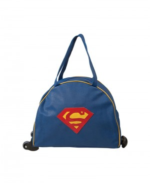 Super Man Design Trolley Bag