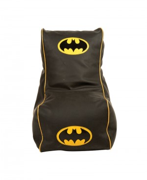 Faux Leather Batman design Bean Chair