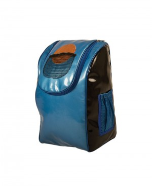 One shoulder bag with Basket ball patch