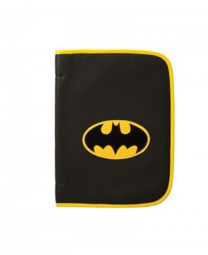 Faux Leather Batman Folder