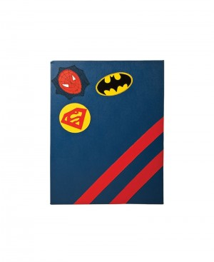 Super Hero Design Pin Board