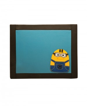 Multi Purpose Art Leather Minion Bed Tables for Kids.