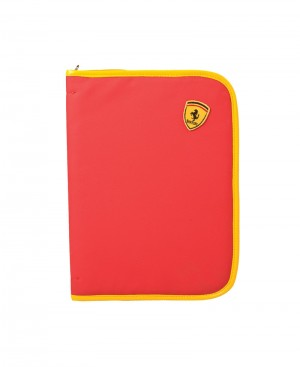 Faux Leather ferrari Folder
