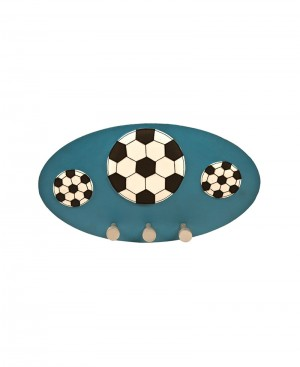 Multi Purpose Art Leather Hanging Board with Football Patch